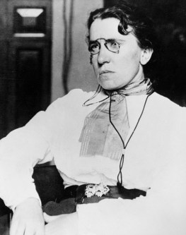 EMMA GOLDMAN (1869-1940). Russian anarchist. Photograph, early 20th century.