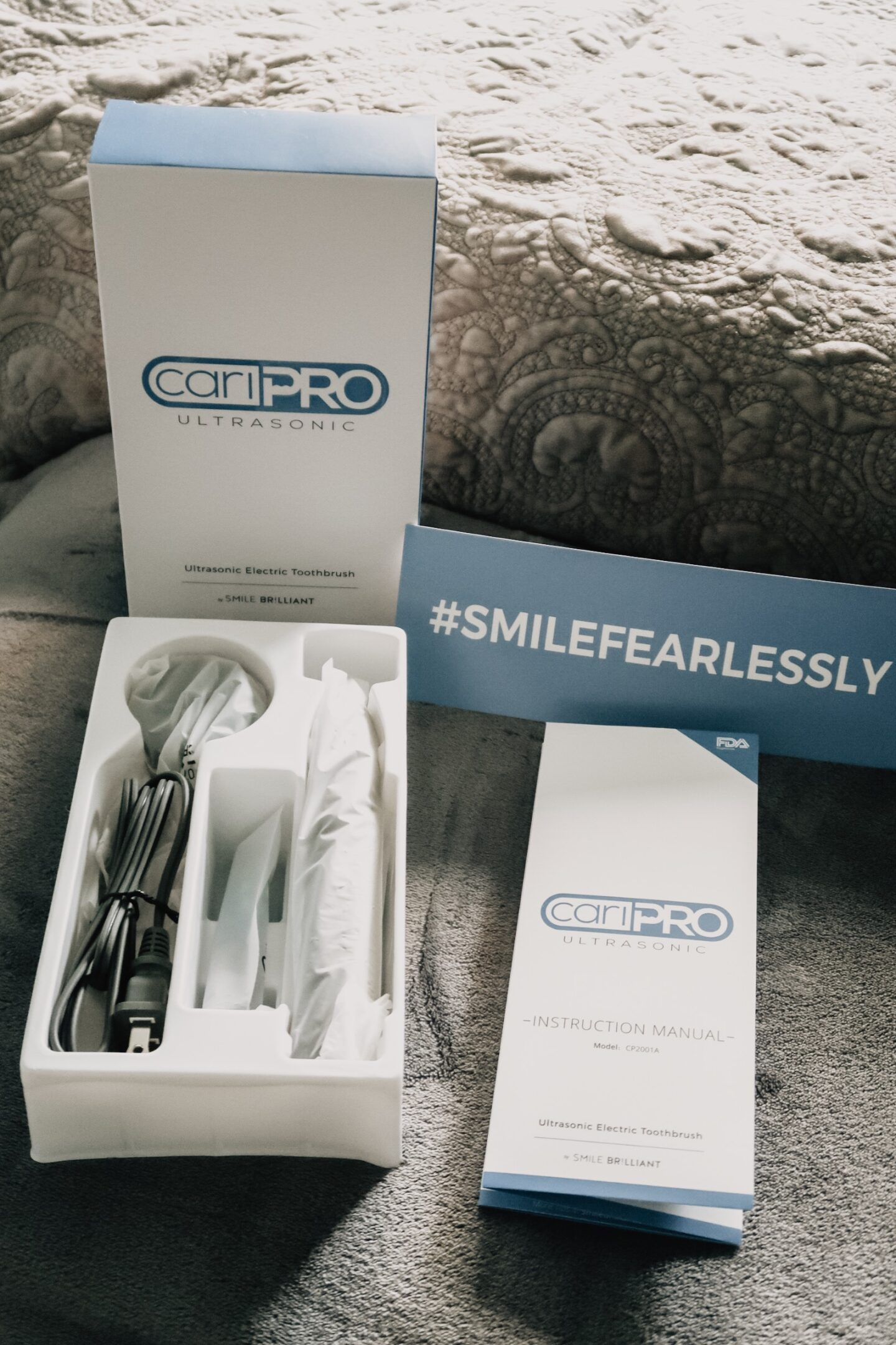 CariPRO Electric Toothbrush Giveaway Really Great Stuff