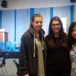 Jess, Mari and I at the RBC Next Great Innovator Hackathon