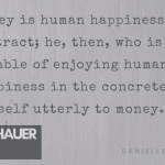 Arthur Schopenhauer money quote