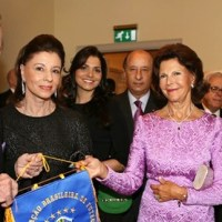 A minha rainha Silvia da Suécia e do Brasil!