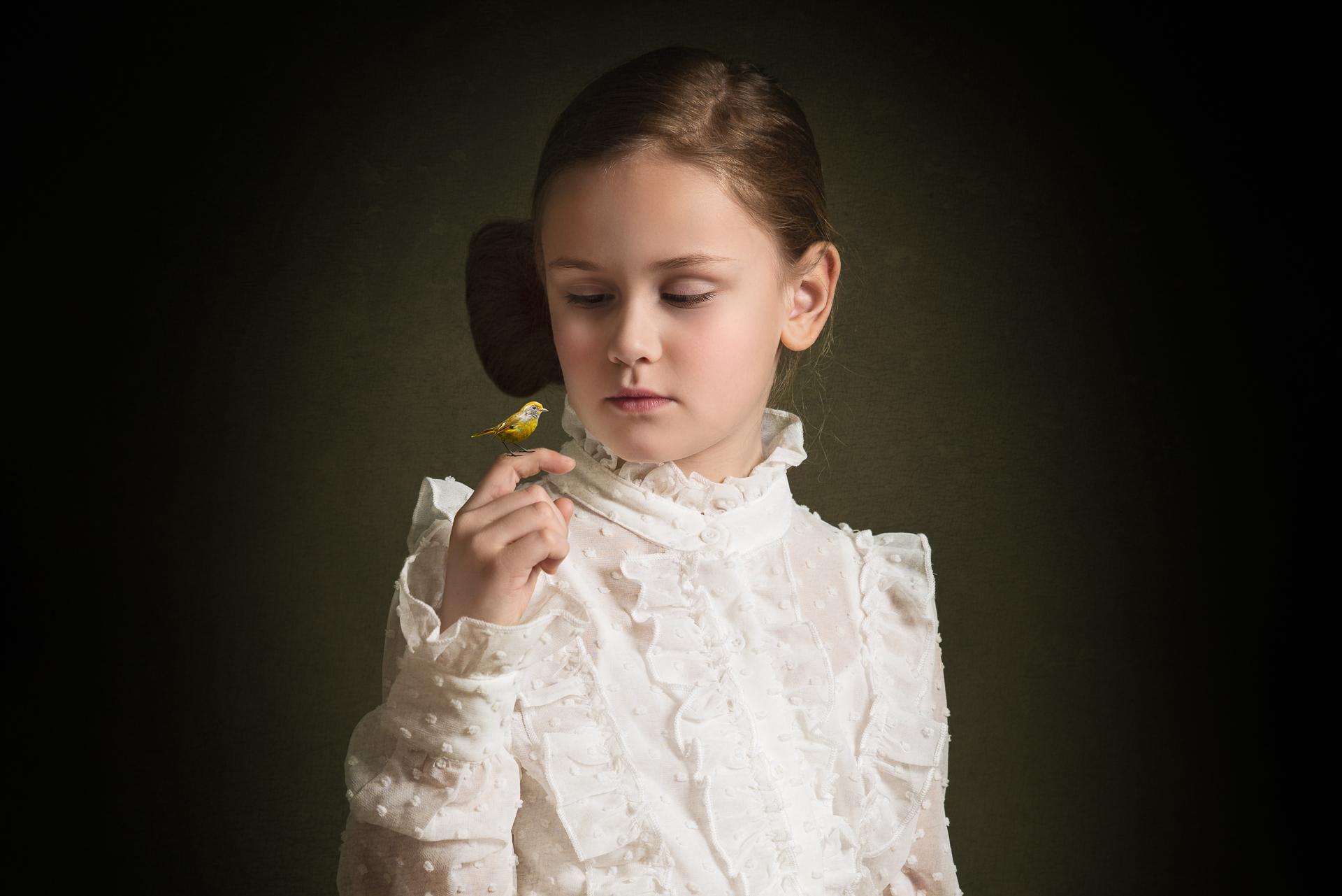 fine art kinderportret kinderfotograaf broer en zus fotograaf studio portret