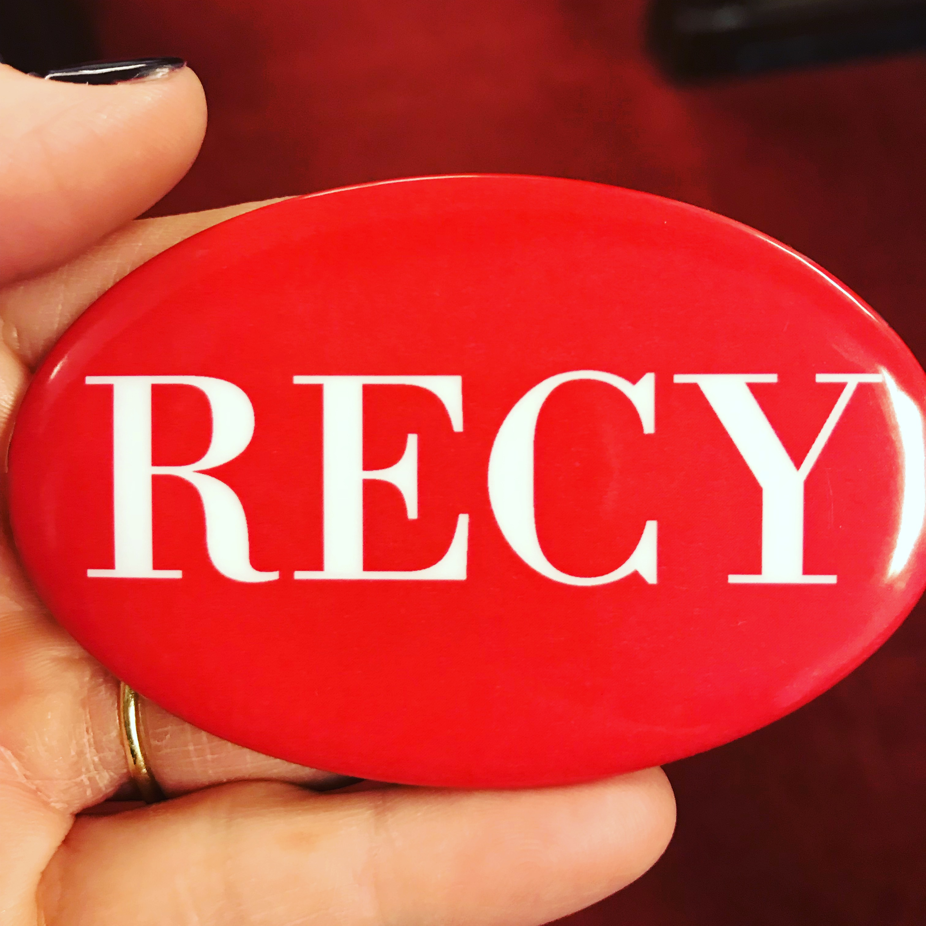 Recy pins worn by the Congressional Black Caucus at the SOTU