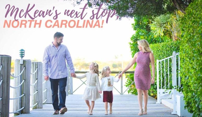We're Moving! Next Stop: North Carolina