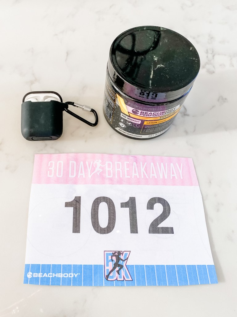 30 Day Breakaway 5K Essentials