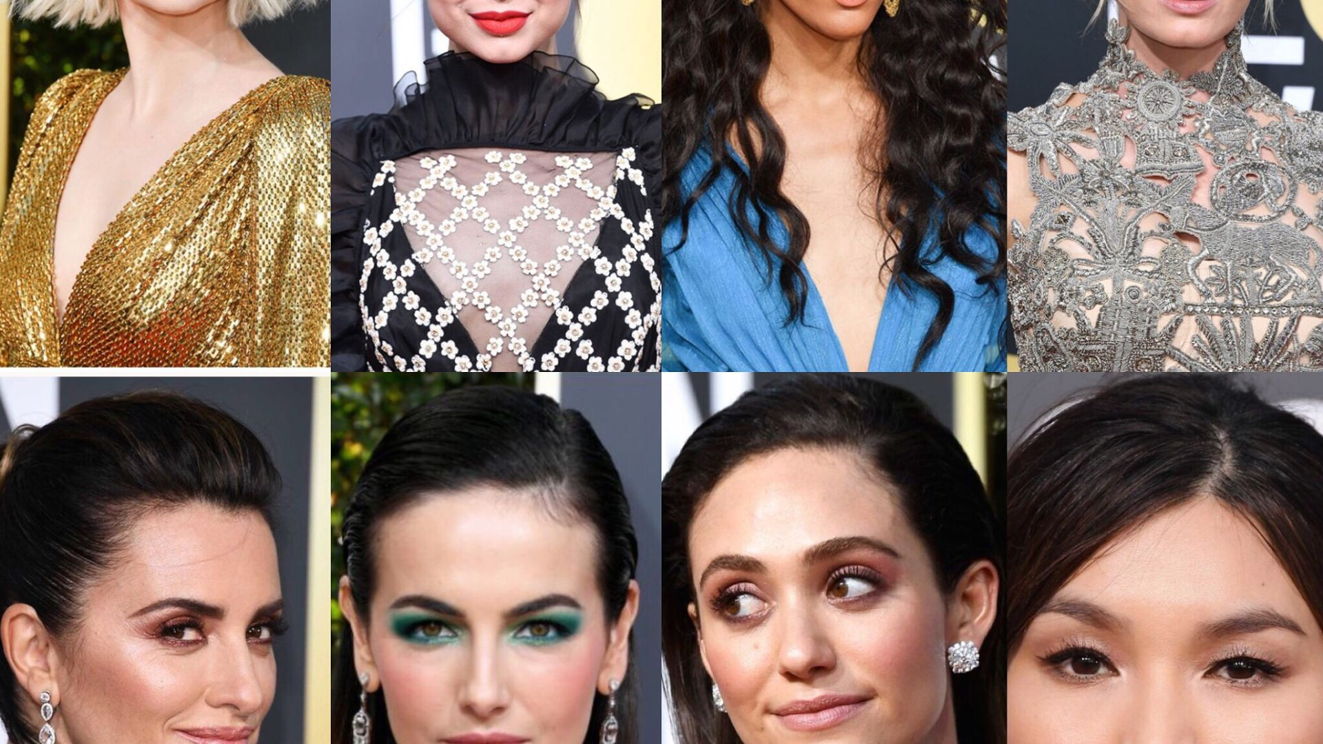 Beauty Trends 2019 as seen from the Golden Globes – Danielle Paquin