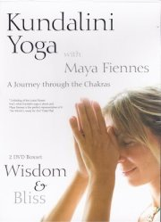 maya fiennes journey through the chakras dvd set 6 7 wisdom bliss