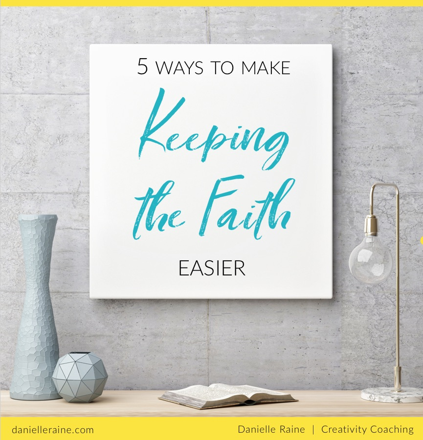 creative faith keeping the faith ebook