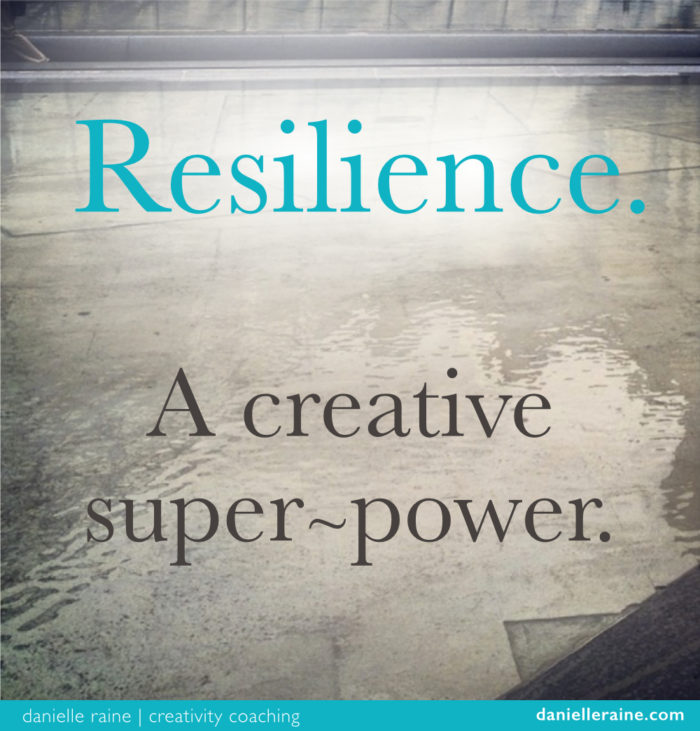 resilience creative superpower