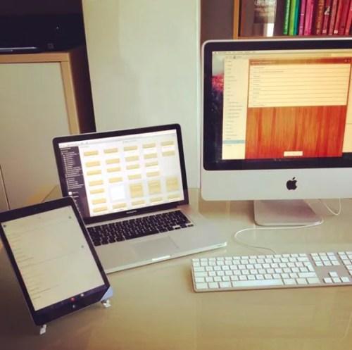 writer ipad macbook imac office