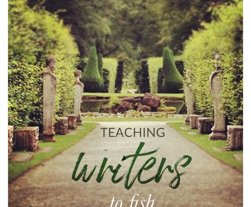 Teaching writers to fish… (Self coaching for writers)
