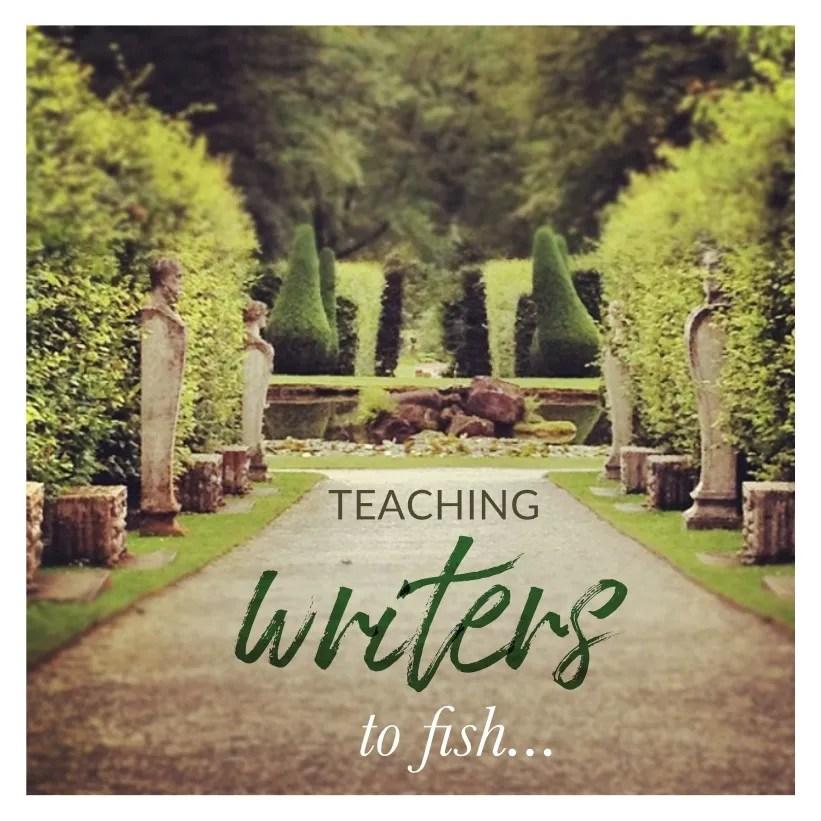 teaching writers to fish (self coaching)