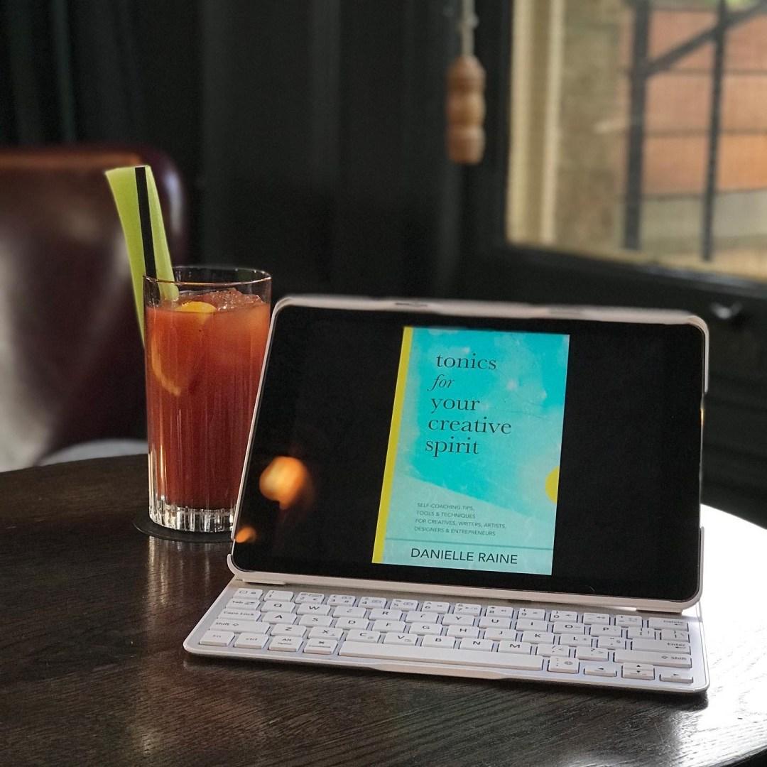 Tonics For Your Creative Spirit kindle book ipad Danielle Raine Creativity Coaching