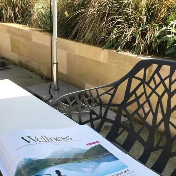 wellness designer chair terrace