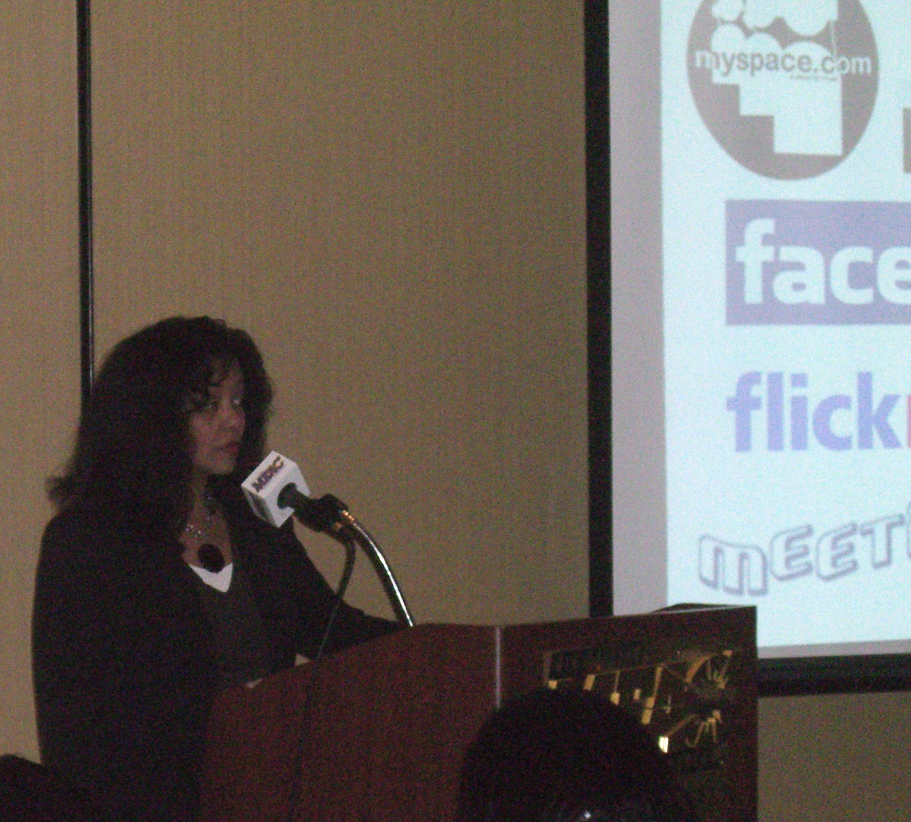 Speaking on Social Networking