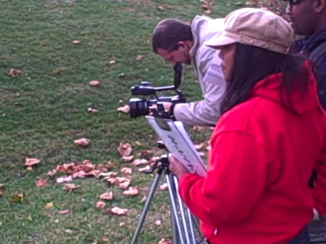 In the field producing Mason Institute of MD, Inc. video