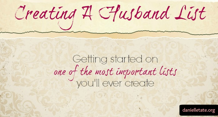 creating a husband list