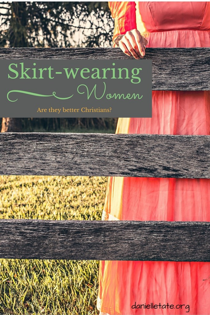 Are skirt-wearing women better Christians
