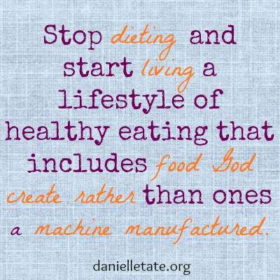 stop dieting
