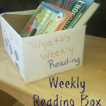 Weekly Reading Box: A Simple Way to Keep Reading Interesting