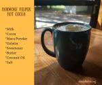 Hormone Helping Hot Cocoa – A Simple Maca Recipe
