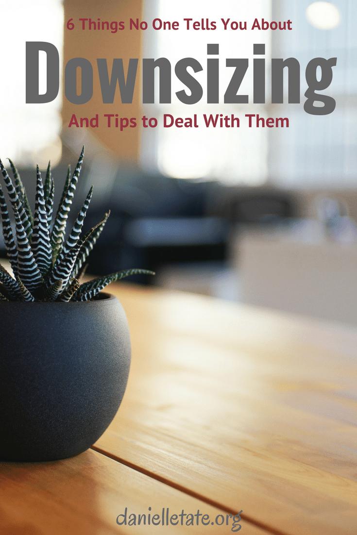 6 downsizing tips