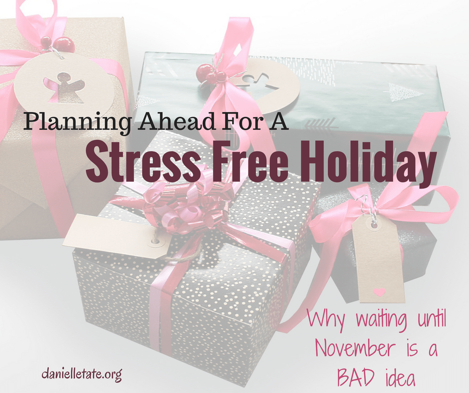 planning ahead stress free holiday