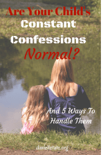 5 Things to Do when Children Start Confessing Bad Thoughts