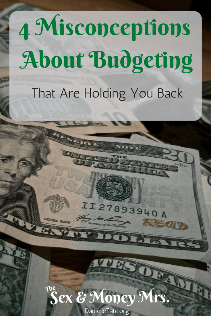 4 Misconceptions About Budgeting Pinterest