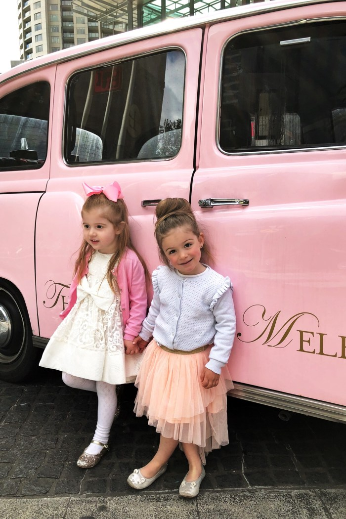 Children's High Tea Melbourne : Langham Barbie Fashionista