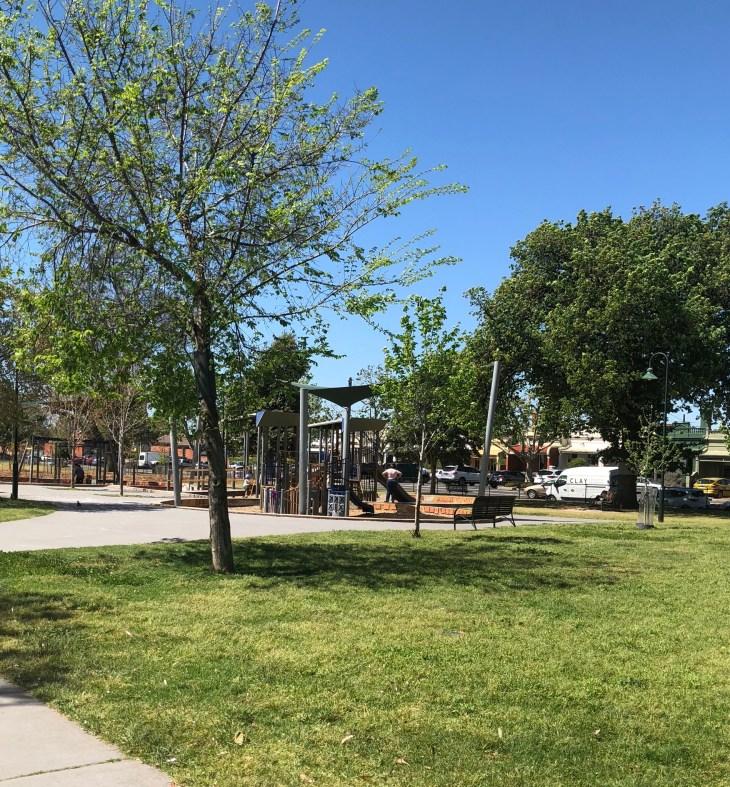 melbourne playgrounds curtain square rathdowne village kids park northern