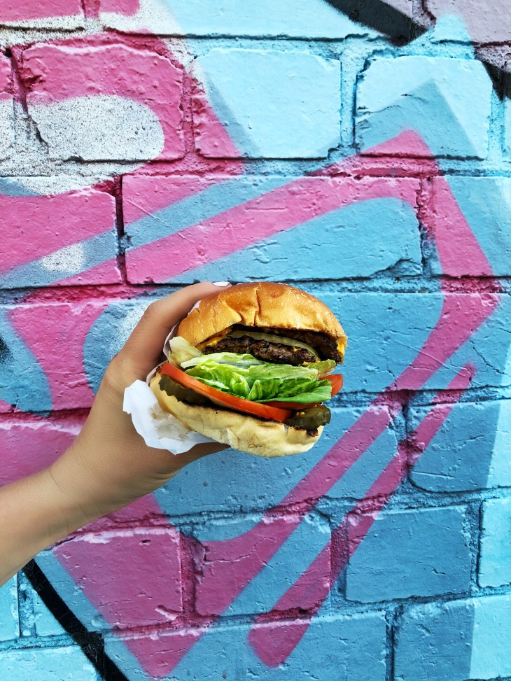 california burgers melbournes best burgers the L.A.X double beef patties melbourne foodie
