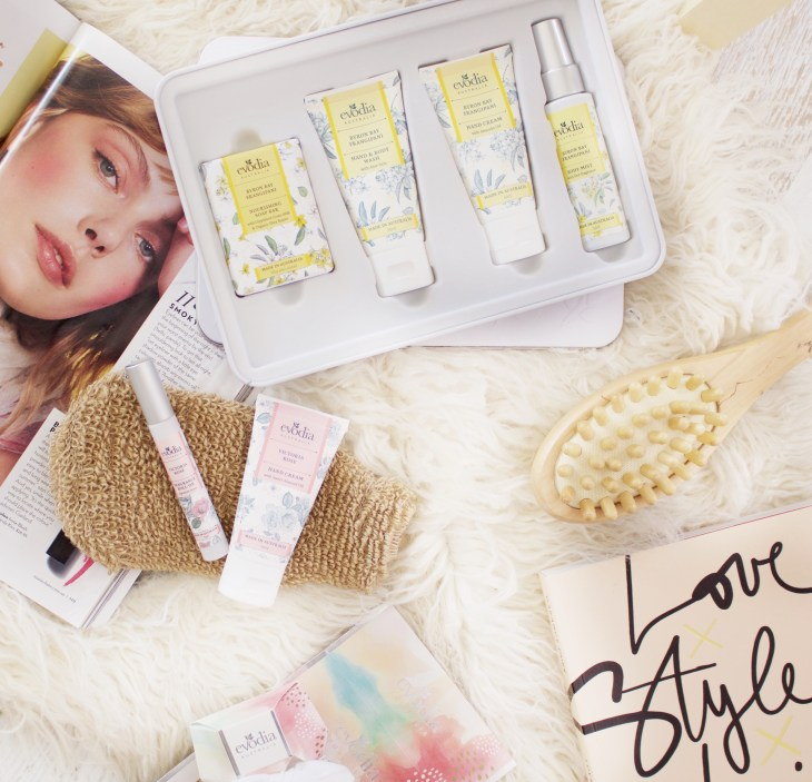 gifts for her evade christmas giftset australian made melbourne lifestyle blogger