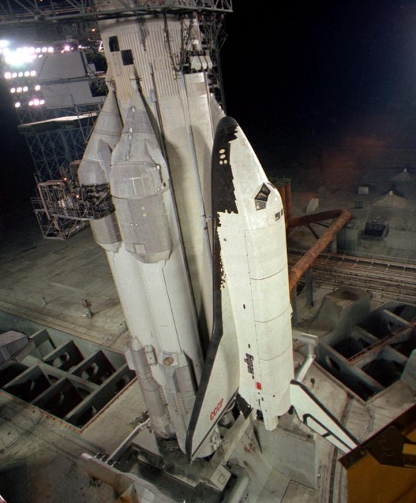 The soviet space shuttle Buran and the launcher Energiya