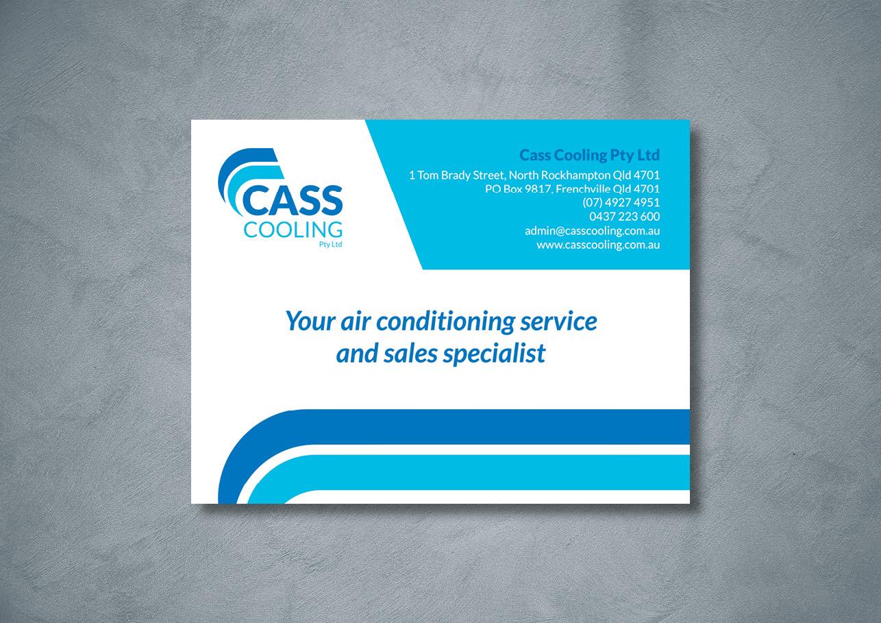 Cass Cooling magnet design for advertising