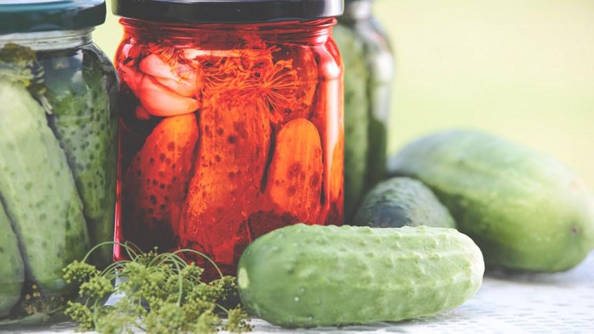 The Koolickle, cherry flavored pickles | Daniel M. Clark