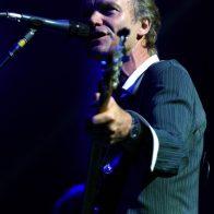 Sting sur scène à l'Olympia