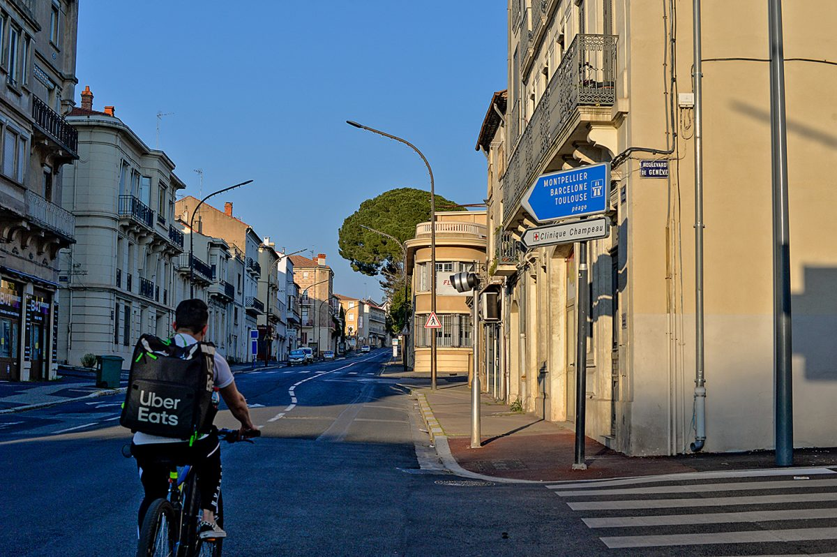 Béziers Avenue Saint Saëns