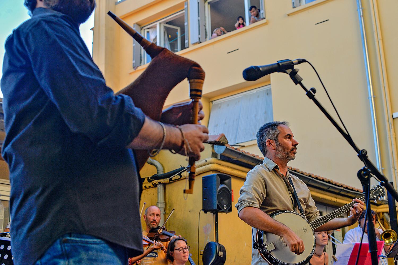 Concert de l'Orchestre de la Tible à la Cimade de Béziers