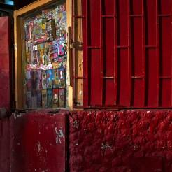 Kiosque à journaux à Punta Arenas