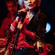 Debbie Harry Blondie sur scène au Casino de Paris