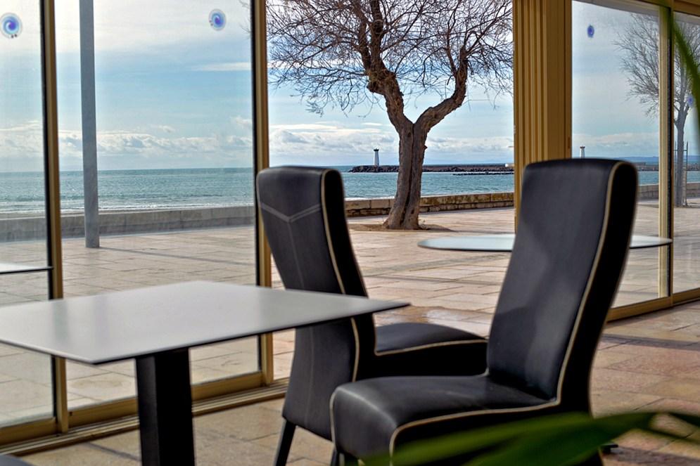 Terrasse de café le Grau d'Agde