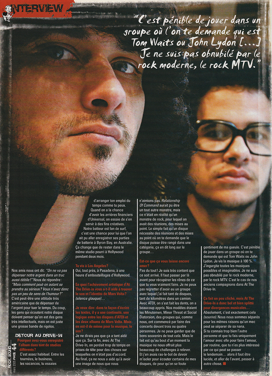 Mars Volta - Rocksound