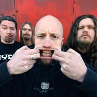 Portrait du groupe de Metal Suedois Meshuggah