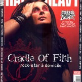 Craddle Of Filth en couverture du magazine Hard'n'Heavy