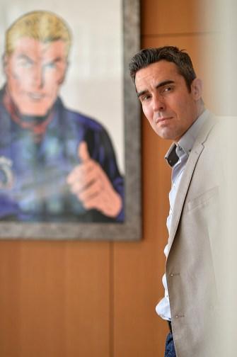 Portrait de Jean Michel Arroyo - Dessinateur de Bande Dessinée