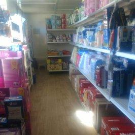 Prairie Lane salvage goods shelf