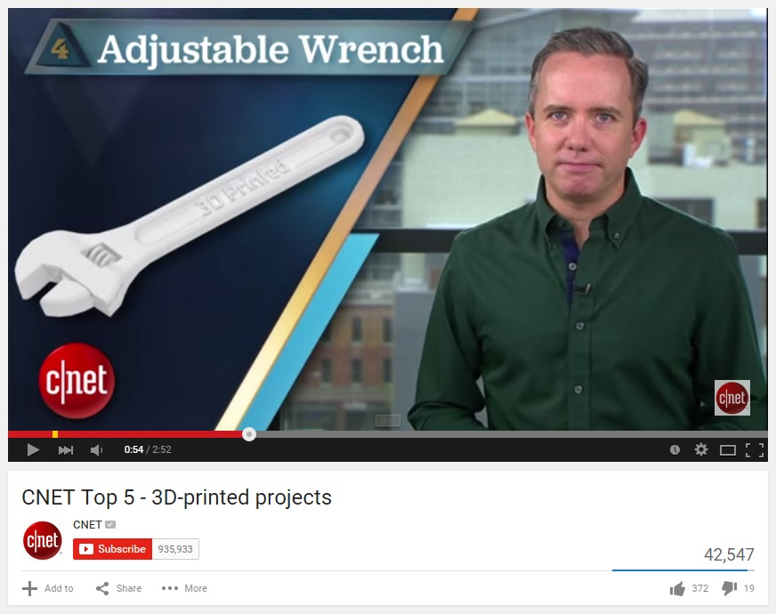 Top5 Printed Objects
