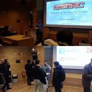 Talk at Stockholm 3D printing meetup