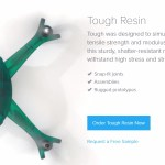 Formlabs Tough Resin Website